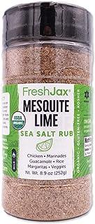 Sponsored Ad - FreshJax Premium Gourmet Spices and Seasonings (Organic Mesquite Lime: Seasoned Sea Salt) 8.9oz