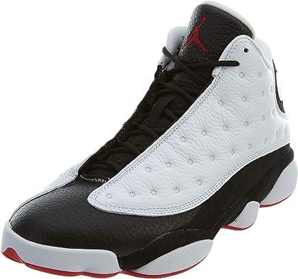 best website 8e188 d23cf Air Jordan 13 Retro He Got Game Men s Shoes White True red Black 414571