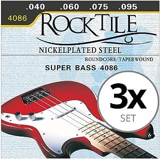 Rocktile cuerdas de bajo eléctrico pack de 3: Amazon.es ...