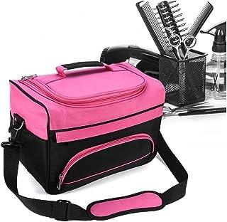 Barber Handbag, Professional Multi-functional Salon Cosmetic Bag Handbag Hairdressing Tools Bag Portable Scissors Comb Hol...