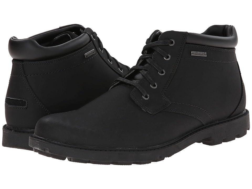 Rockport Storm Surge Water Proof Plain Toe Boot (Black) Men