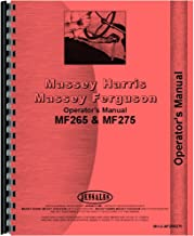 New Massey Ferguson MF 275 Tractor Operators Manual