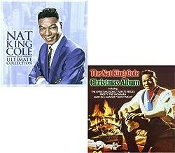 The Ultimate Nat King Cole (Greatest Hits) - Christmas Album - Nat King Cole 2 CD Album Bundling
