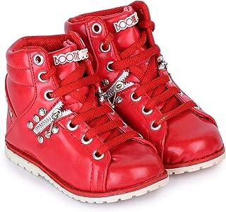 Bootie Pie Girl's High Street Smartbphs09kred82516.91199 Red Boat Shoes-8 Kids UK (25 EU) (BPHS09K)