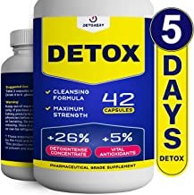 Total Herbal Cleanse - Natural Detox in 5 Days - Vegetarian Capsules