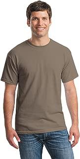 Gildan mens Heavy Cotton 5.3 oz. T-Shirt(G500)-BROWN SAVANA-S-10PK