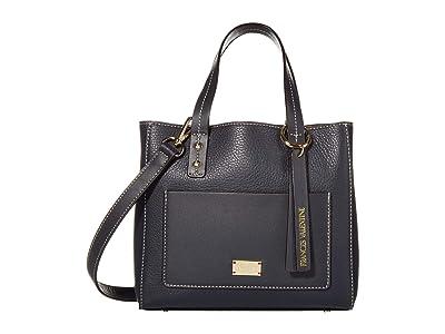 Frances Valentine Chloe Small Tote (Navy) Handbags