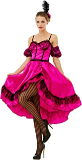 Boo Inc. Saloon Sweetheart Halloween Costume Dress | Wild West World Madam Cosplay