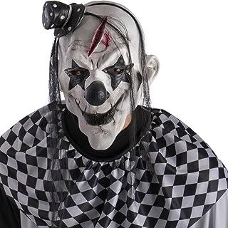 Carnival Toys 1470 Máscara Payaso de terror con pelo y gorra, multicolor, talla única