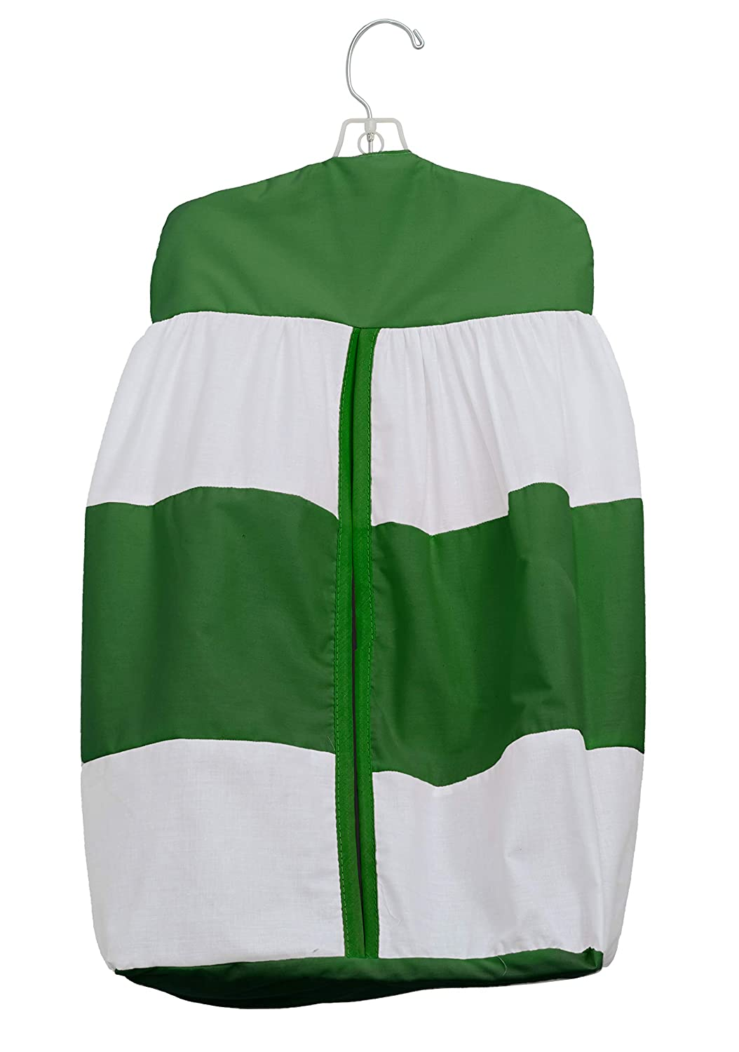 Baby Doll Lodge Collection Diaper Stacker, Green