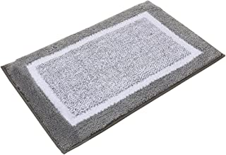 Kitchen Rugs, O' Family Microfiber Non Slip Kitchen Doormats Rubber Backing Bathroom Area Rugs Set,19.7-Inch By 31.5-Inch