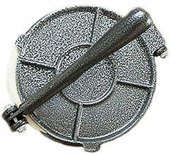 Aluminum Alloy Tortilla Press Folding Handle Flour Tool Baking Corn DIY Pie Tools Kitchen Accessories (Grey, 6.5in)