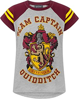 Quidditch Team Captain Girl's T-Shirt