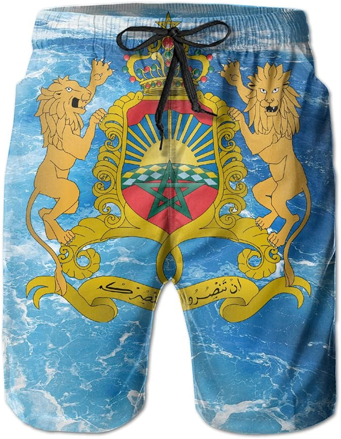 970d7571a6 AKSKXMNN-Coat AKSKXMNN-Coat AKSKXMNN-Coat of Arms of Mgoldcco Mens Swim  Trunks Quick Dry Surf Board Shorts Beach Pant Sportswear 236197