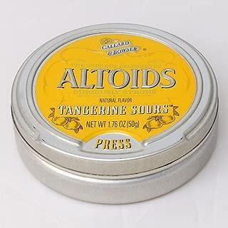 Altoids Tangerine Sours (1 Sealed Tin) Rare Discontinued Candy Altoid Sour