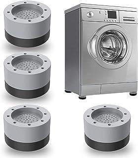 JINCHENG 4 Pièces Anti Vibration Machine à Laver Pieds,Tapis Anti-Vibration Machine à Laver-,stabilisateur de machine à la...