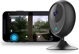 Momentum Cori Single Security Camera, Smart Motion Activated with App, Indoor and Portable   WiFi Baby Cam, Nanny Cam, Business Security Cam, Pet/Dog Monitoring, Two Way Audio, HD Night Vision   Black