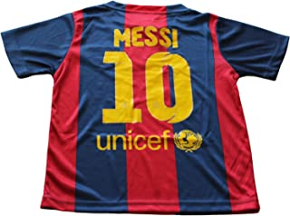 2014/2015 FC BARCELONA HOME LIONEL MESSI 10 FOOTBALL SOCCER KIDS JERSEY (12-13 YEARS)