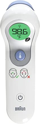 Braun Ntf300us Braun No Touch Forehead Thermometer