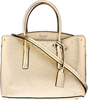 Kate Spade Margaux Ladies Large Silver Leather Shoulder Bag PXRUA231-712