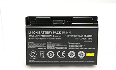 7XINbox 14 8V 5200mAh 76 96Wh Ersatz Akku Batterie f r CLevo P150HMBAT-8 6-87-X710S-4271 6-87-X710S-4272 6-87-X710S-4J7 6-87-X710S-4J72 Sager NP8170 NP8150 NP8130 P170HM P170 P170SM-A Schätzpreis : 74,38 €