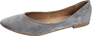 Gen Now Womens Classic Ballet Flats Comfort Flexible Closed Toe Pointed ToeSlip On
