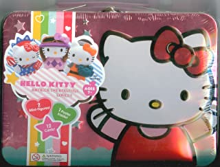 Hello Kitty America the Beautiful Series 1 Tin w/ Mini-Figures and Trading Cards