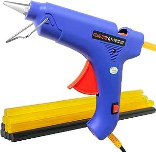 Winsall Hot Glue Gun, 100W Hot Melt Glue Gun with 10pcs Glue Sticks, High Power Heating Glue Gun for DIY, Home Quick Repairs, Dent Repair, Artistic Creation, More