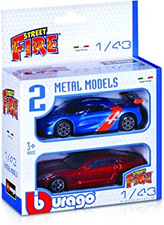 Bburago Street Fire 2 Metal Models - 3 Years And Above, For 3 Years & Above