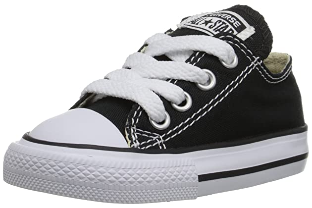 beb6e6855295 Converse Chuck Taylor All Star OX Toddler s Shoes Black 7j235