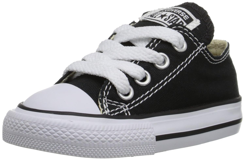 Converse 子ども用チャックテイラーAll Starキャンバスロートップスニーカー US サイズ: 1 M US カラー: ブラック