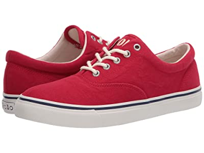 Polo Ralph Lauren Harpoon (Red Washed Canvas) Men