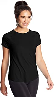 C9 Champion Women's Soft Tech Tee, Ebony, M
