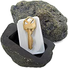 Ram-Pro Hide-a-Spare-Key Fake Rock - Looks & Feels like Real Stone - Safe for Outdoor Garden or Yard, Geocaching