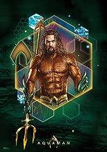 "Aquaman - 2018 Movie Art – Jason Momoa – Mighty Print Wall Art is Not Made of Paper 17"" x 24"" MP17240518"