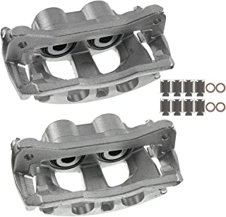 A-Premium Disc Brake Caliper Assembly with Bracket Compatible with Ram 2500 3500 Dodge Ram 2500 3500 2009-2018 Rear Left and Right 2-PC