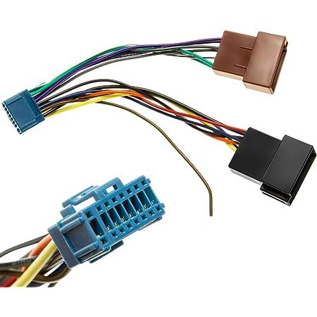 Kfz Auto Radio Adapter Kabel Stecker Kabelbaum Din Iso Kompatibel Mit Pioneer Radio Auto