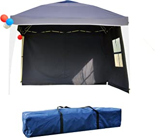 GOJOOASIS Ez Pop Up Team Canopy Tent 10'x10' Instant Party Shelter with Carry Bag & 2 Sidewalls