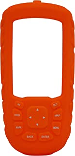 Grand Coque En Silicone Pour Garmin Astro 220,320,430 Orange