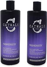 Catwalk Tigi Fashionista Blondes and Highlights Shampoo & Conditioner Set, 25.36 Fluid Ounce