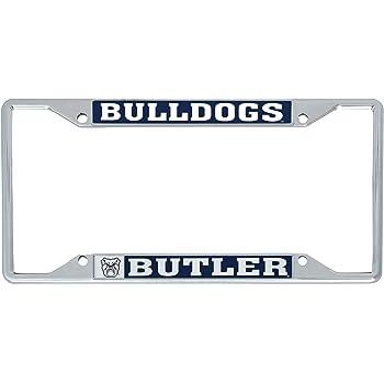 Mascot Desert Cactus Ferris State University FSU Bulldogs NCAA Metal License Plate Frame for Front Back of Car Officially Licensed