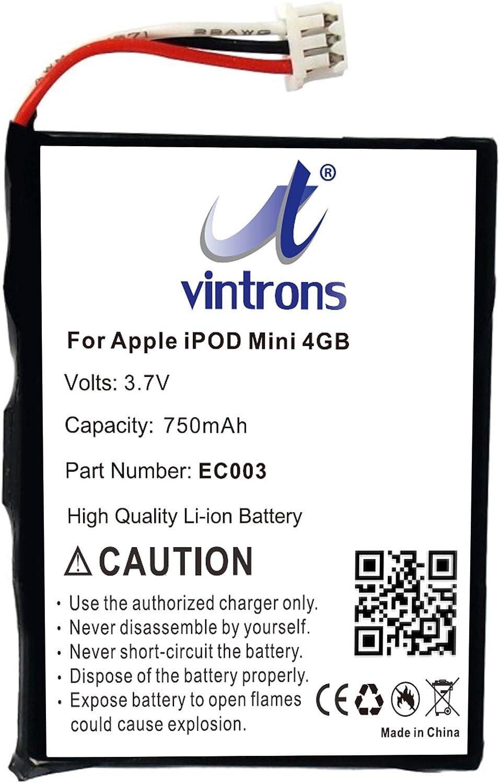 iPod Mini 4GB 6GB EC003 Battery Max 89% OFF Replacement EC007 Nippon regular agency f