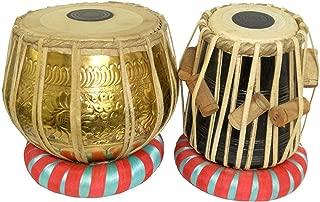 Professional Brass Bayan & Dayan Tabla Set Percussion Musical Instrument with Carry Bag & Cushion/tabla set,tabla trommel,tabla bayan,tabla drums,tabla musik instrument,tabla drum set,indian tabla set