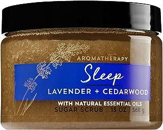 Bath and Body Works Aromatherapy Sleep Lavender Cedarwood Sugar Scrub 13 Ounce