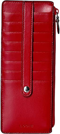 Lodis Accessories - Audrey RFID Card Case With Zip Pocket
