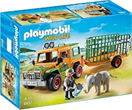 PLAYMOBIL® Ranger's Truck with Elephant