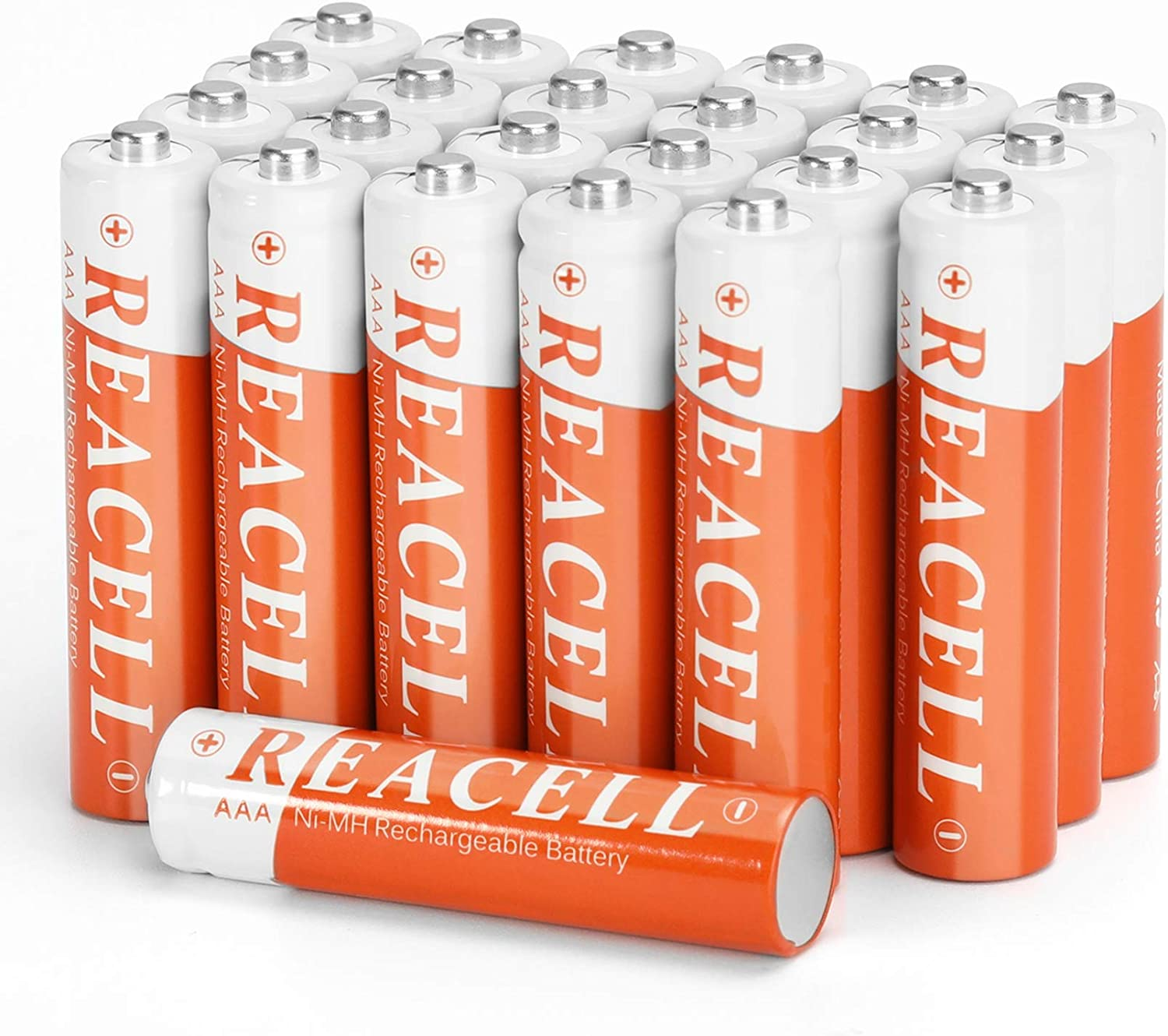 REACELL Solar AAA Finally popular brand Choice Rechargeable Battery Capa 700mAh High Pack 24