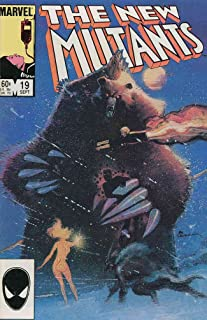 New Mutants, The #19 VF ; Marvel comic book