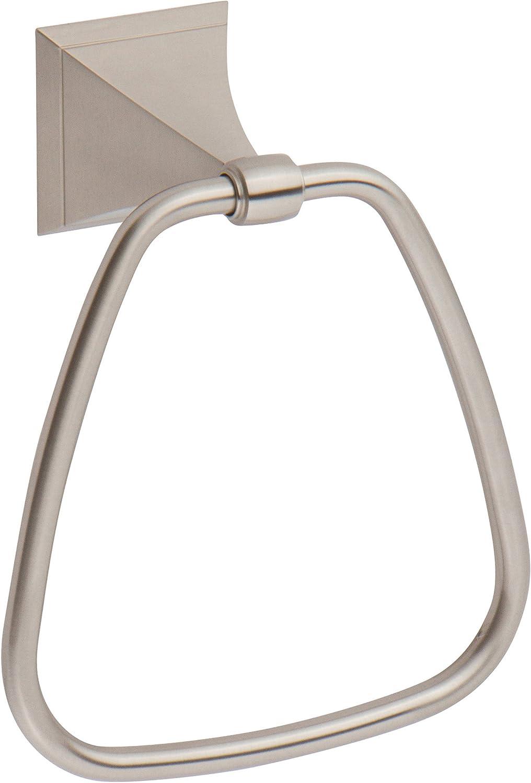 Ginger Cayden Closed Towel Ring - 4905 SN - Satin Nickel