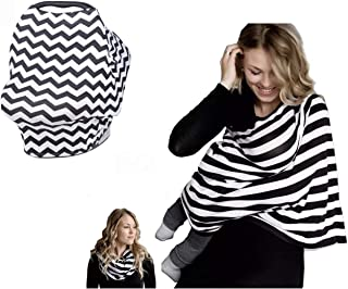 Dolson Nursing Cover for baby Breastfeeding - Multi purpose Stretchable Infinity Nursing cover for Car Seat Canopy - Shopp...